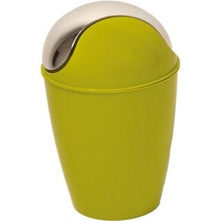 Evideco Round bath Floor Trashcan Waste Bin (Option: Green - lime green)