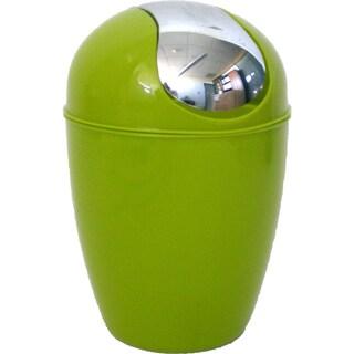 Evideco bath Mini Waste Basket Countertop Trashcan (Option: Green - lime green)
