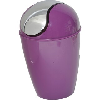 Evideco bath Mini Waste Basket Countertop Trashcan
