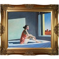 Edward Hopper 'Morning Sun, 1952' Hand Painted Oil Reproduction