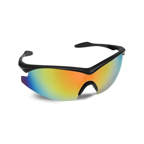 Bell Howell Tac Glasses Military Inspired Sunglasses Block Glare and Enhance Colors - multi