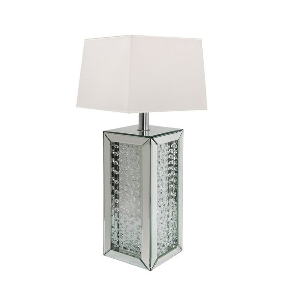 Best Quality Furniture Mirrored Crystal Table Lamp with Shade