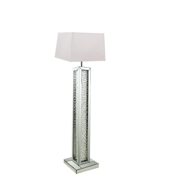 Best Quality Furniture Mirrored Crystal Floor Lamp with Shade