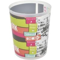 Evideco Urban Nyc bath Floor Trashcan Waste Bin
