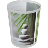 Evideco Bath Trashcan Zen and Co Waste Bin