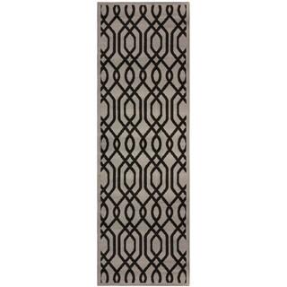 """Miranda Haus Designer Gryffon Area Rug (2'7"""" x 8') - 2'6"""" x 8'"""