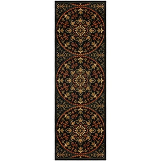 "Superior Designer Fancy-Medallion Area Rug (2'7"" x 8')"