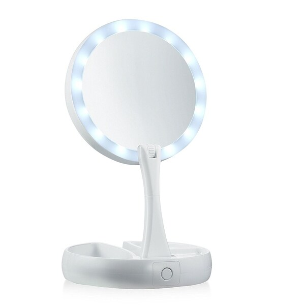 My Foldaway Mirror Lighted, Double Sided Vanity Mirror As Seen On TV