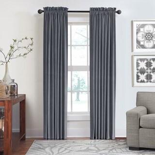 Grand Luxe Cotton Velvet Luxury Rod Pocket Window Panel (As Is Item)