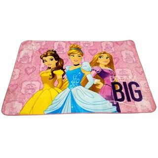 Disney Princess Multicolor Non-Slip Polyester Kids Area Rug (4'6 x 6'8)