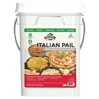 Augason Farms Italian Variety Emergency Food 4-Gallon Pail 87 Servings