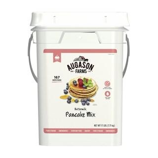 Augason Farms Buttermilk Pancake Mix Emergency Bulk Food Storage 17 Pound 4 Gallon Pail 167 Servings