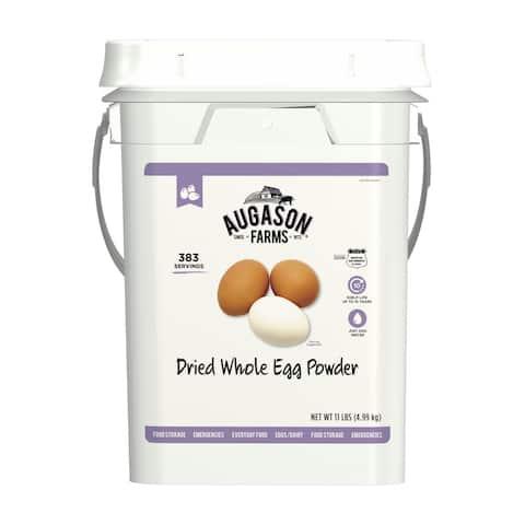 Augason Farms Dried Whole Egg Powder Food Supply 383 Servings