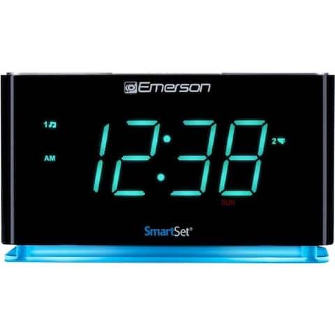 Emerson SmartSet ER100301 Desktop Clock Radio