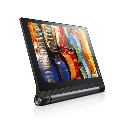 "Lenovo Yoga Tab 3 10 ZA0H0064US Tablet - 10.1"" - 2 GB RAM - 16 GB Storage - Android 5.1 Lollipop - Slate Black"