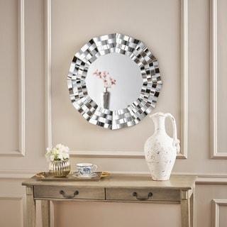 wall mirror design. Simple Mirror Dalton Geometric Wall Mirror By Christopher Knight Home  Silver Inside Design