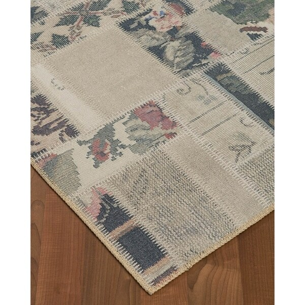 Natural Area Rugs Vintage Oriental Luxor Polyester (5'X8') Rectangle Rug Multi - 5' x 8'
