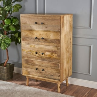 Houston 4-Drawer Wood Chest by Christopher Knight Home