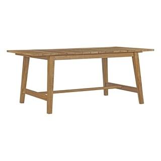 Moday Dorset Teak Wood Outdoor Patio Dining Table