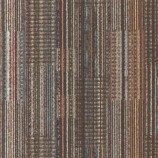 """Mohawk Epsom 24"""" x 24"""" Carpet tile in MUDSLIDE"""