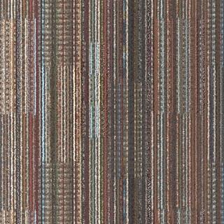 "Mohawk Epsom 24"" x 24"" Carpet tile in SMOKY MARTINI"