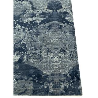 Hand-Knotted Chicory Area Rug  (2'6 x 10')
