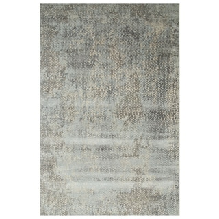 Hand-Knotted Classic Grey Area Rug (3' x 5')
