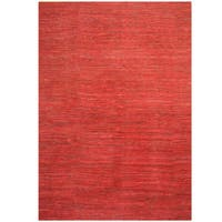 Handmade Herat Oriental Indo Chenille Flatweave Contemporary Rug (India) - 10' x 13'