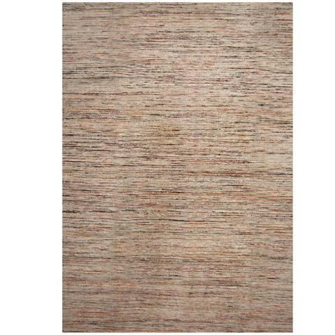 Handmade One-of-a-Kind Chenille Flatweave Rug (India) - 10' x 13'
