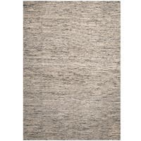 Herat Oriental Indo Hand-tufted Chenille Flatweave Contemporary Rug (10' x 13') - 10' x 13'