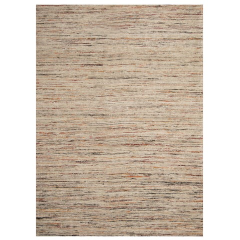 Herat Oriental Indo Hand-tufted Chenille Flatweave Contemporary Rug (6'6 x 8'6)