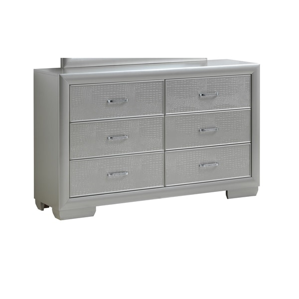 LYKE Home Caterina Six Drawer Dresser
