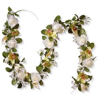 "72"" Spring Flowers Garland"