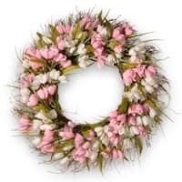 """21"""" Tulip Wreath"""