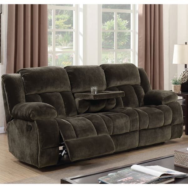 Terrific Shop Malin Transitional Brown Reclining Sofa By Foa On Caraccident5 Cool Chair Designs And Ideas Caraccident5Info