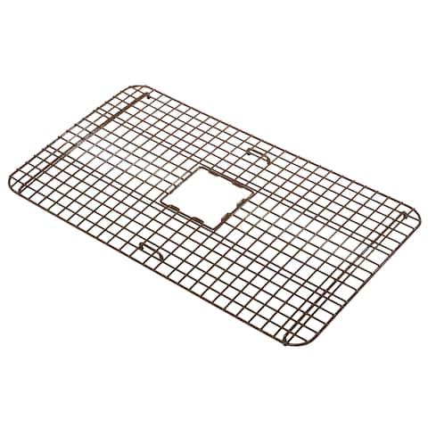Sinkology Rohe Copper Kitchen Sink Bottom Grid