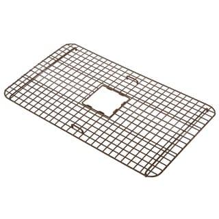 Link to Sinkology Rohe Copper Kitchen Sink Bottom Grid Similar Items in Sinks