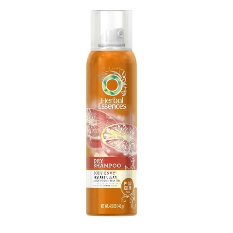 Herbal Essence Body Envy Instant Clean & Lightweight 4.9-ounces Dry Shampoo Fresh Feel Citrus Scent