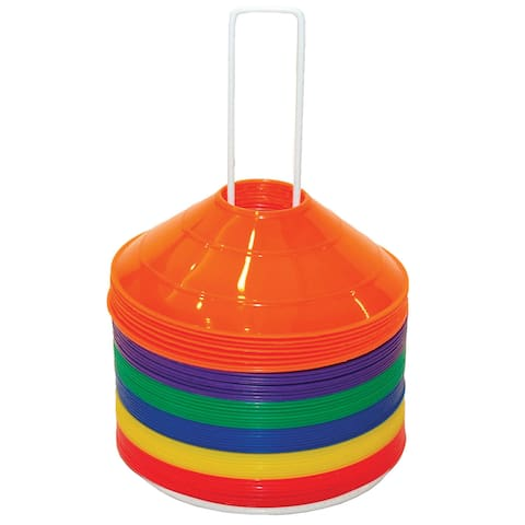 Champion Sports Saucer Field Cone Set