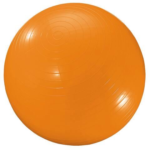 """Martin Sports Exercise Ball, 34"""", Orange"""