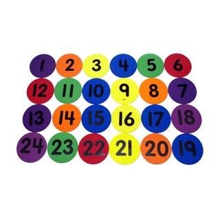 """Number Spots, 124, 5"""""""