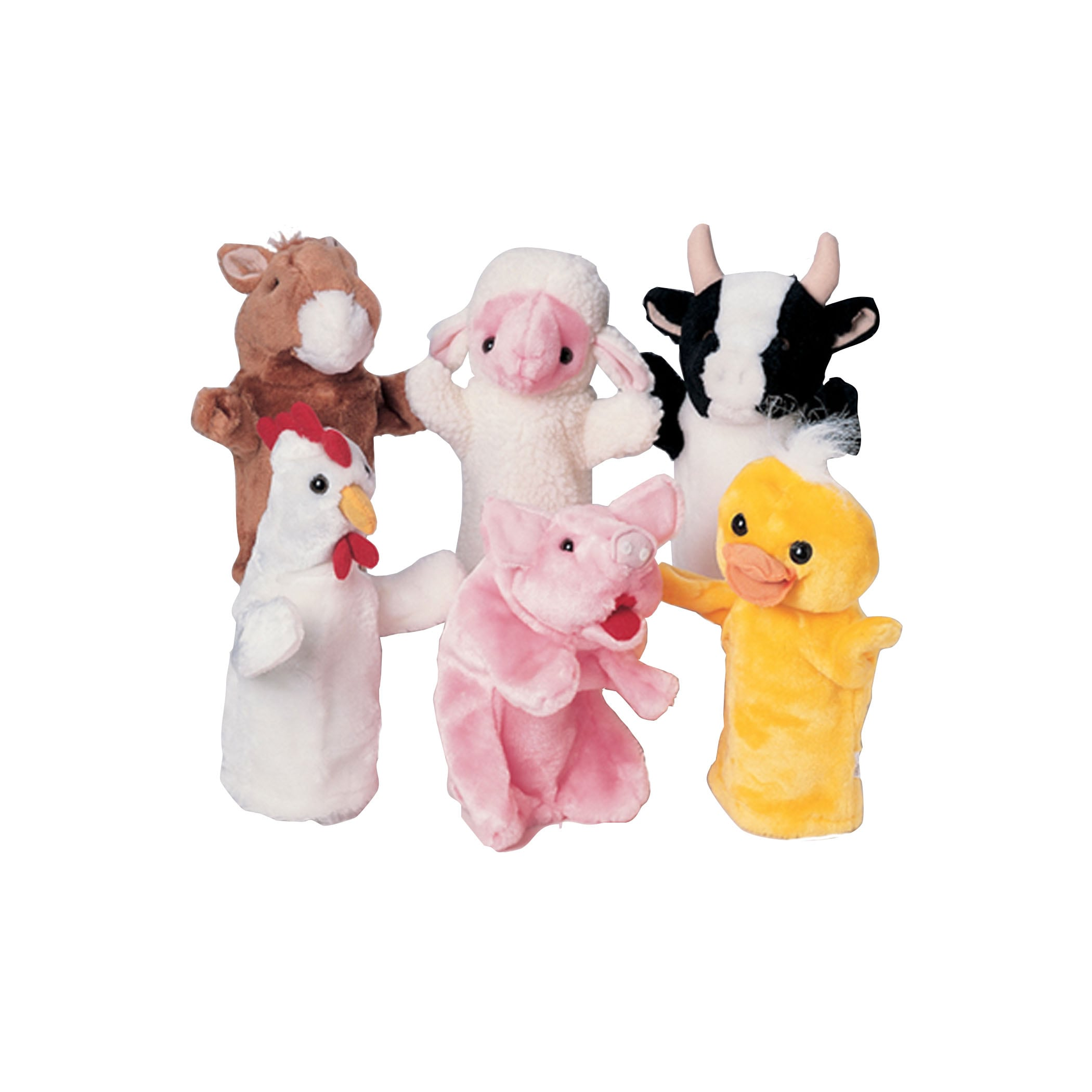 Marvel Farm Favorites Puppets, Multi