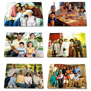 Melissa & Doug Realistic Multicultural Family Puzzle Set