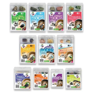 American Educational Products Explore with Me, Collection of 11 Rock Sets