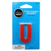 "Dowling Magnets 2"" Alnico Horseshoe Magnet, Bundle of 6 packs"