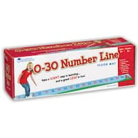 Learning Resources 0-30 Number Line Floor Mat