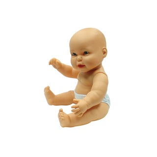 "Caucasian 18"" Vinyl Baby Doll, Gender Neutral"