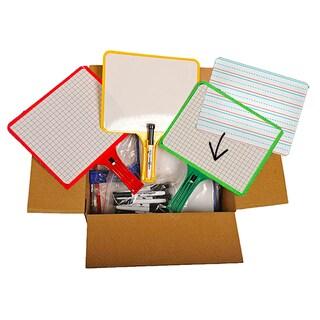 Kleenslate Dry Erase Board System Standard Classroom Pack, 12/pk