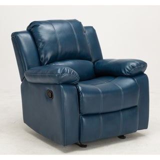 Charleston Leather Gel Recliner by Greyson Living