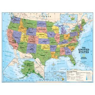 Political Series USA Map